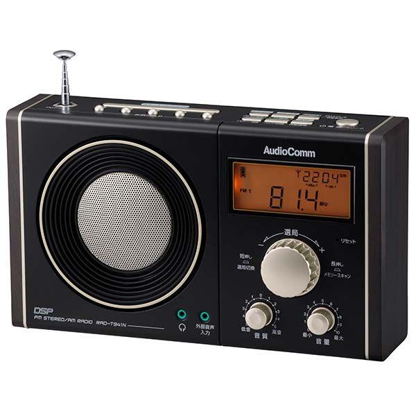 OHM 書斎ラジオ RAD-T941N