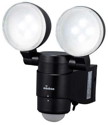 LED 乾電池式 センサーライト乾電池式 2灯