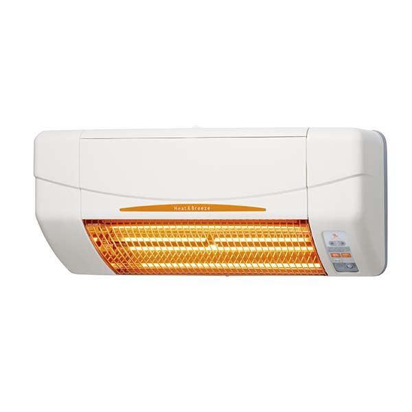 高須産業 涼風暖房器 非防水仕様 脱衣室・トイレ・小部屋用 SDG-1200GS