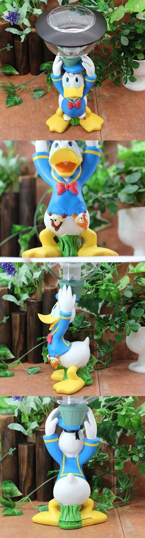 ★お庭を素敵に演出する♪ ソーラーライト(ドナルド)