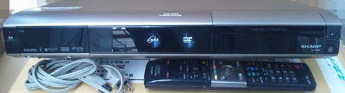 ジャンク SHARP デジタルハイビジョンレコーダー DV-AC82