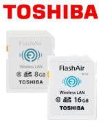 無線LAN搭載SDHCメモリカード FlashAir
