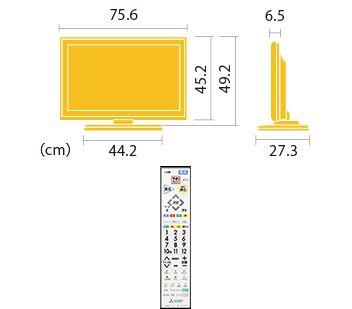 三菱 REAL 24/32型液晶テレビLB7シリーズ
