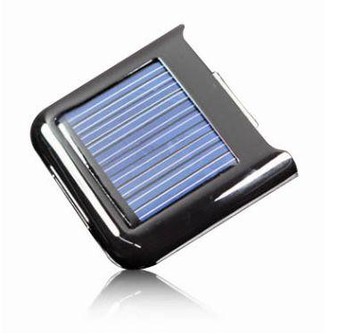 iPhoneipod対応ソーラーパネル付きPowerStation ブラック